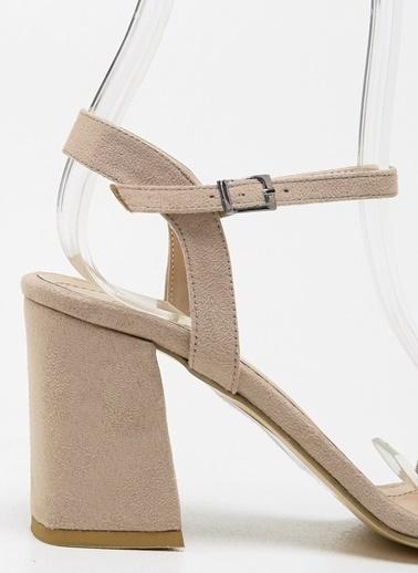 F By Fabrika Kadın Siyah Ayakkabı RAYNE Bej